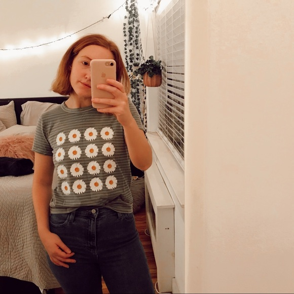 Urban Outfitters Tops - Flower tee from Urban Outfitters